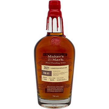 Maker's Mark Wood Finishing Series 2021 Limited Release Bourbon Whiskey