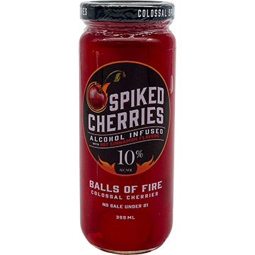 Howie's Spiked Cherries Balls of Fire
