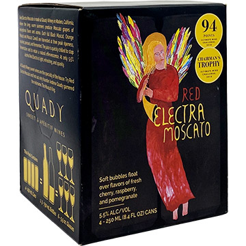 Quady Red Electra Moscato 2018