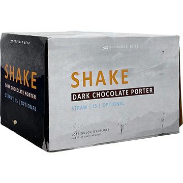 Boulder Beer Shake Dark Chocolate Porter