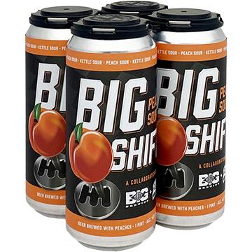 Big Muddy & 2nd Shift Brewing Big Shift Peach Sour