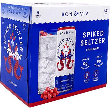 Bon & Viv Spiked Seltzer Cranberry