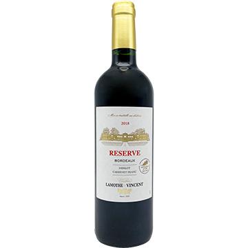 Chateau Lamothe-Vincent Reserve Bordeaux Merlot Cabernet Franc 2018