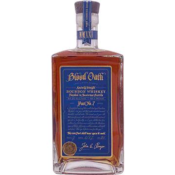 Blood Oath Pact No. 7 Bourbon Whiskey