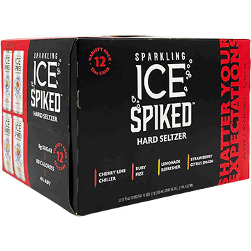 Sparkling Ice Spiked Hard Seltzer Variety Pack