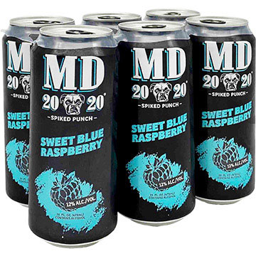 MD 20/20 Spiked Punch Sweet Blue Raspberry