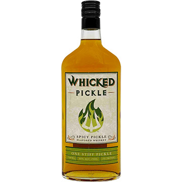 Whicked Pickle Spicy Pickle Flavored Whiskey