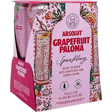 Absolut Vodka Soda Grapefruit Paloma
