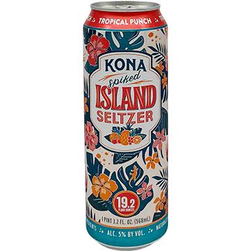Kona Spiked Island Seltzer Tropical Punch