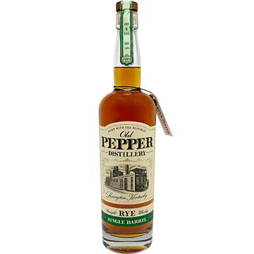 Old Pepper Single Barrel Straight Rye Whiskey