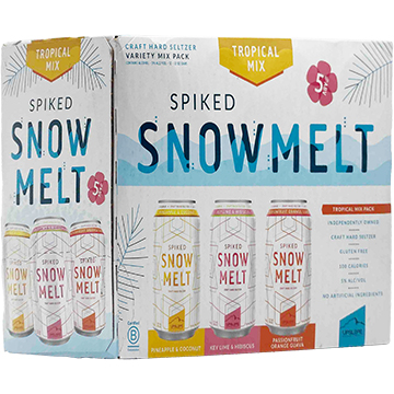 Upslope Spiked Snowmelt Tropical Series Variety Pack