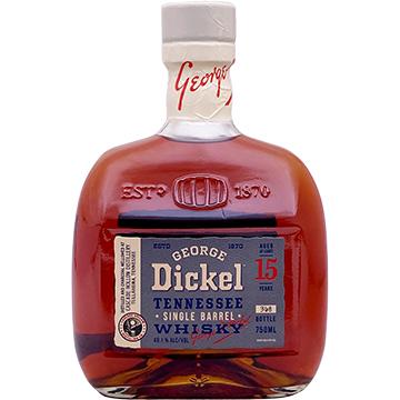 George Dickel 15 Year Old Single Barrel