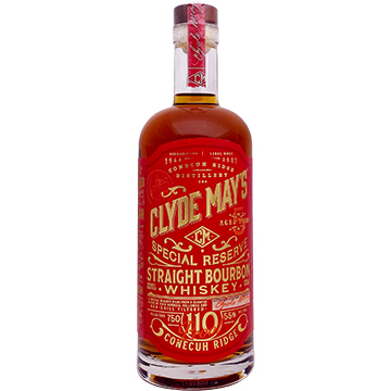 Clyde May's 5 Year Old Special Reserve Straight Bourbon