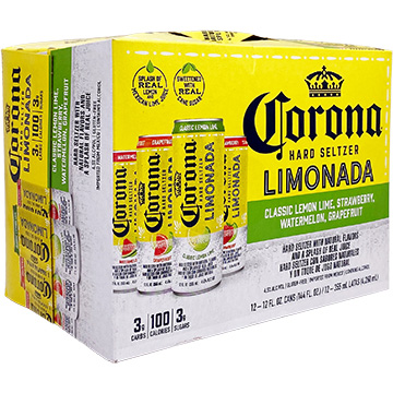 Corona Hard Seltzer Limonada Variety Pack