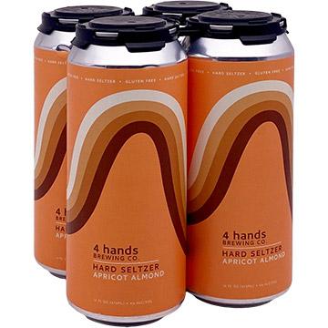 4 Hands Apricot Almond Hard Seltzer