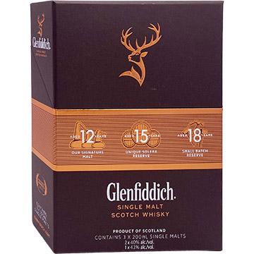 Glenfiddich Trio Pack
