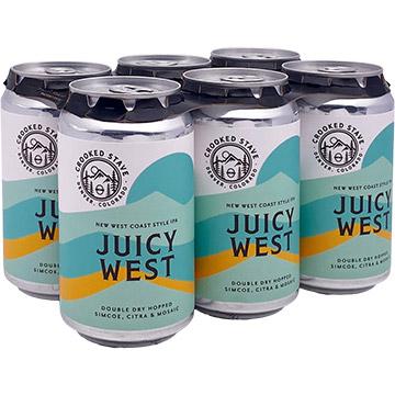Crooked Stave Juicy West Coast IPA