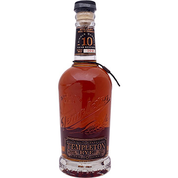 Templeton Rye 10 Year Old Reserve