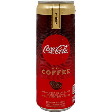 Coca-Cola with Coffee Vanilla