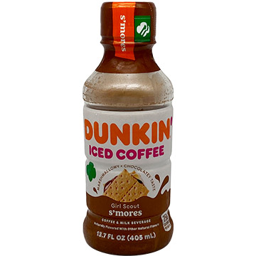 Dunkin' Girl Scout S'mores Iced Coffee