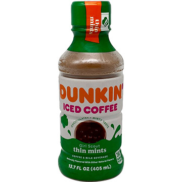 Dunkin' Girl Scout Thin Mints Iced Coffee