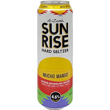 AriZona Sunrise Hard Seltzer Mucho Mango
