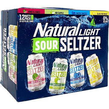 Natural Light Sour Seltzer Variety Pack