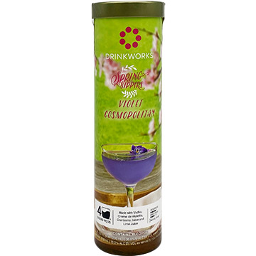 Drinkworks Spring Sippers Violet Cosmopolitan