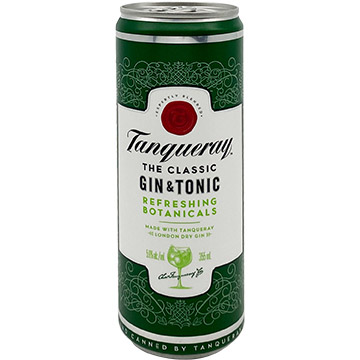 Tanqueray London Dry Gin & Tonic