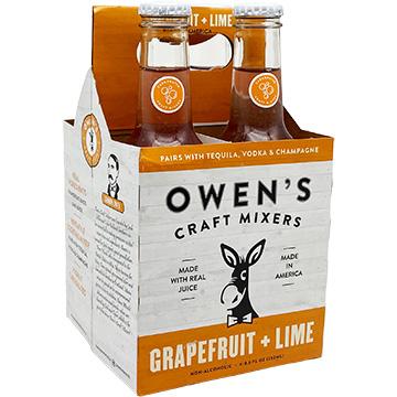 Owen's Craft Mixers Grapefruit + Lime