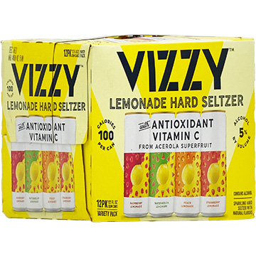 Vizzy Lemonade Hard Seltzer Variety Pack