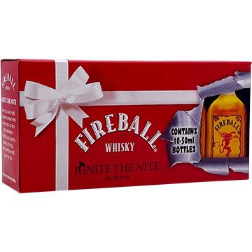 Fireball Cinnamon Whiskey Ignite The Nite Pack
