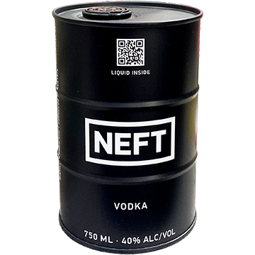 NEFT Black Barrel Vodka