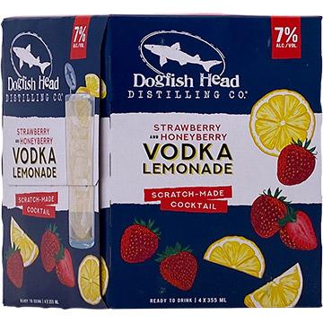 Dogfish Head Strawberry & Honeyberry Vodka Lemonade