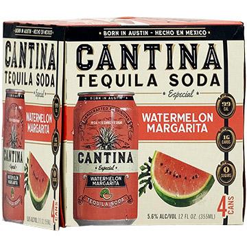 Cantina Especial Watermelon Margarita Tequila Soda