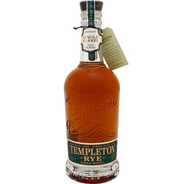 Templeton Single Barrel Rye Whiskey